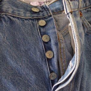Women's Vintage Button Fly 501 Levi's